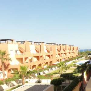 2 bed attico apartment with private pool available for long-term let in Vera Playa