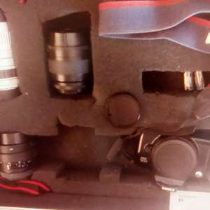 For sale: Cameras and equipment