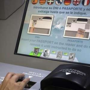 ETIAS and non-residents and the new machines being installed at airports