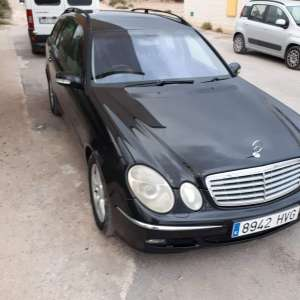 For sale: Mercedes e classe W211 estate, RHD, automatic, 7seater