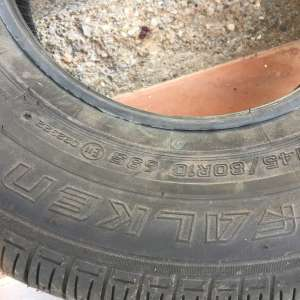 For sale: New tyre 145x10 - €20
