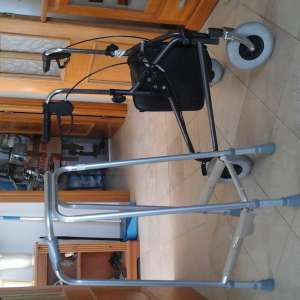 For sale: zimmer frame and stroller