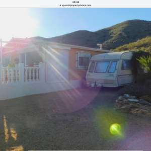For sale: 2 caravans for sale, cooker, fridge, showers, etc.