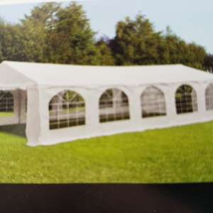 Marquee hire 5mx8m