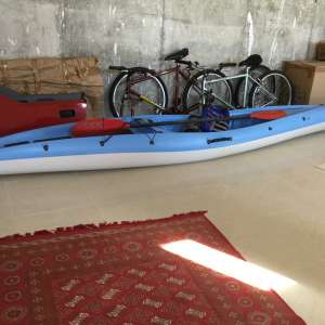 For sale: Sea Kayak and 2 cycles