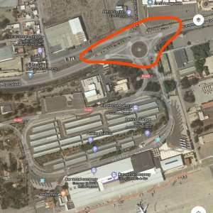 Car parking at Almeria airport ( also Murcia)