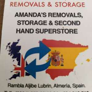 Amanda's Removals and storage