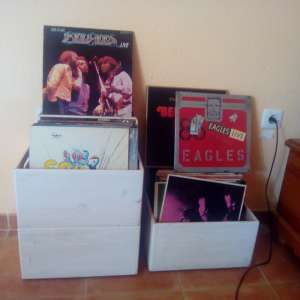 For sale: Vinyl records + CDs - €150