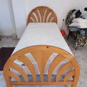 For sale: Single bed and matress. - €100