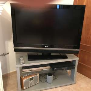 For sale: 42 LG television and stand