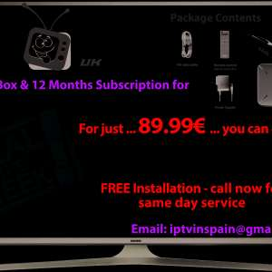 For sale: IPTV Deal Of The Week - €89