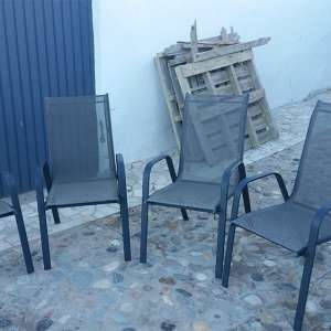For sale: Outdoor Furniture chairs - €75