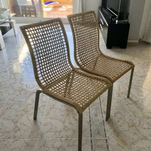For sale: 4 Ikea dining chairs - €30