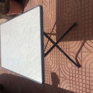 For sale: Folding patio table 3.6 X 2.4 ft - €30
