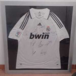 For sale: Signed Real Madrid shirt